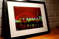 Glasgow Lights. £49 framed print